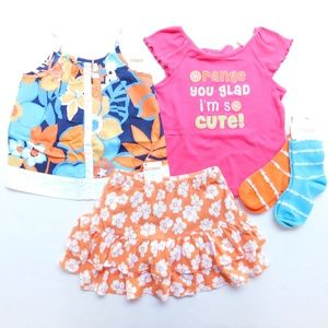 Gymboree Girl 2T Spring Clothes Lot Outfit Set NWT